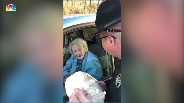 [NATL] Officers Surprise Drivers With Turkeys Instead of Tickets