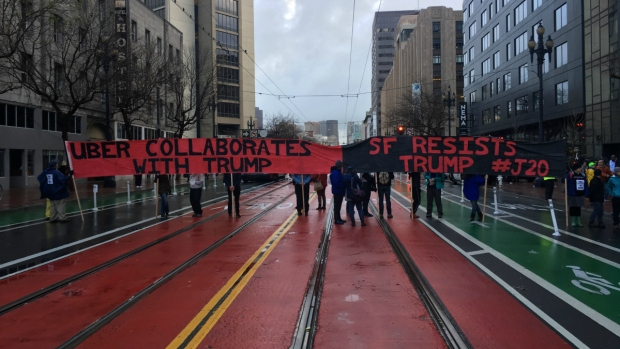 Trump's Inauguration Sparks Bay Area Actions