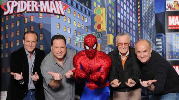 'Ultimate Spider-Man' Cartoon Taps Stan Lee & Other Veteran Webslingers