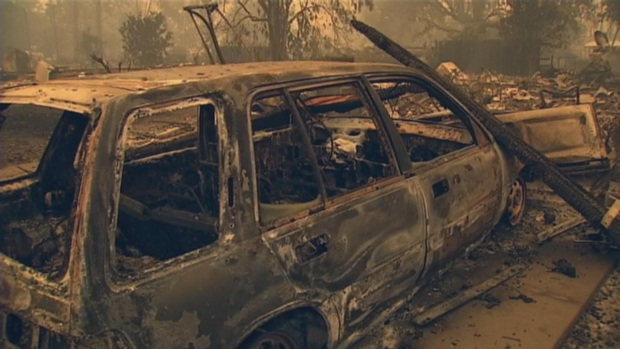 [BAY] Valley Fire Swells to 62,000 Acres, 10 Percent Containment