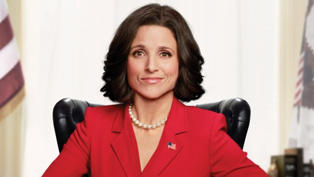 'Veep' Star Julia Louis-Dreyfus Peels a Political Second Banana