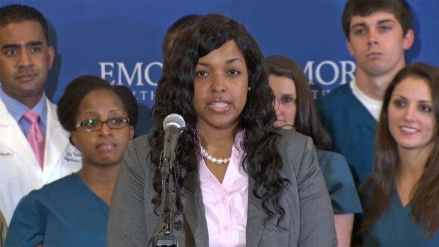 [DFW] Ebola Survivor Amber Vinson Released From Hospital