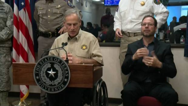 [NATL-DFW] Abbott Holds News Conference on Harvey