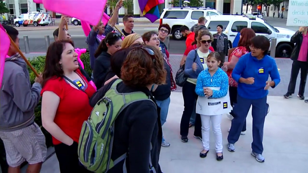 [DGO] Locals Rally for Supreme Court Prop 8 Decision