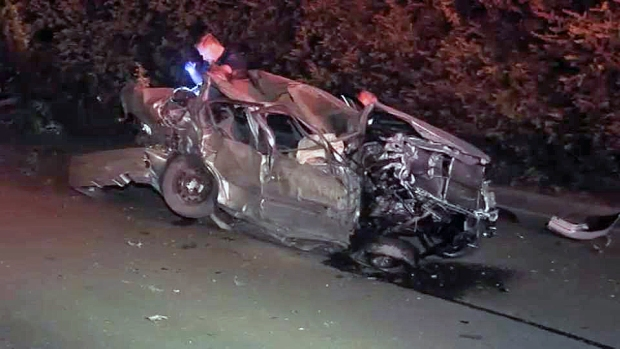 [BAY] 2 Teens Killed, 3 Injured in Suspected DUI Crash