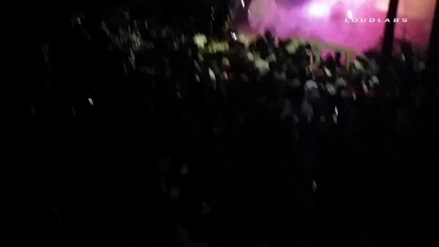 [LA] RAW VIDEO: Isla Vista Party Turns Violent