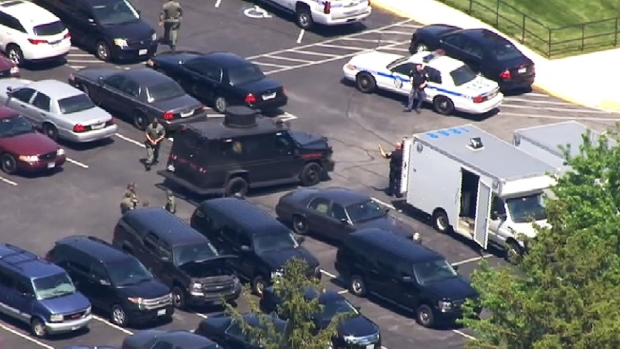 [DC] Standoff at Md. TV Station Ends With Suspect in Custody