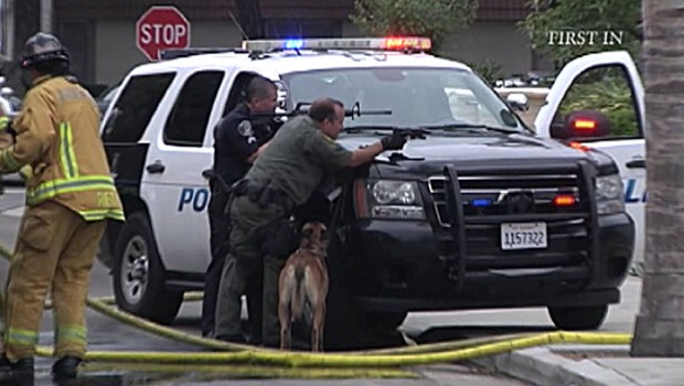 Southern California Police Standoffs