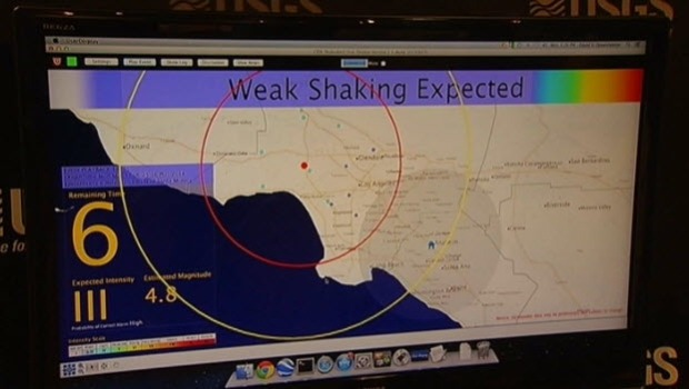 [BAY] Seismologists Work to Develop Earthquake Alert System
