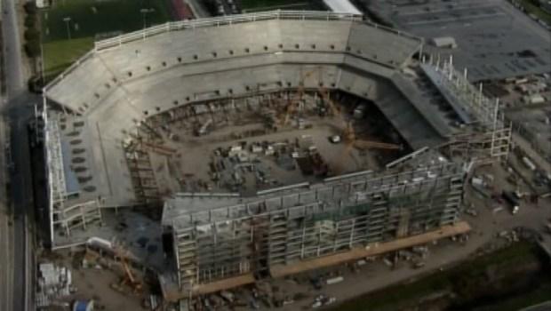 San Francisco 49ers Stadium Under Construction