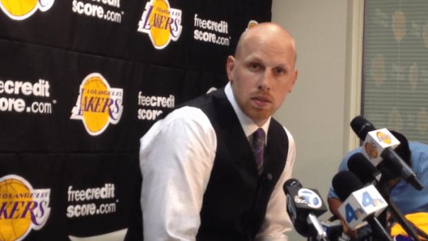 [LA] Lakers Chris Kaman Press Conference