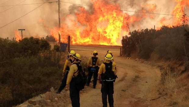 Viewer Images: SoCal Springs Fire -- Submit Images to isee@nbcla.com