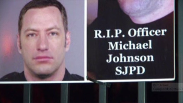 [BAY] Slain SJPD Officer Michael Johnson Honored