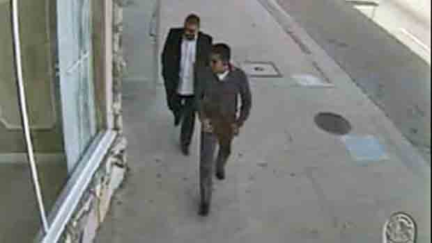 Jewelry Robbers Caught on Surveillance Video