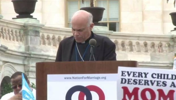 [BAY] San Francisco Archbishop Cordileone Marches at DC Marriage Rally in Face of Local Opposition