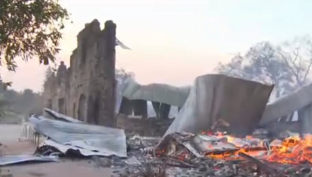 [BAY] Soda Rock Winery Destroyed by Wildfire