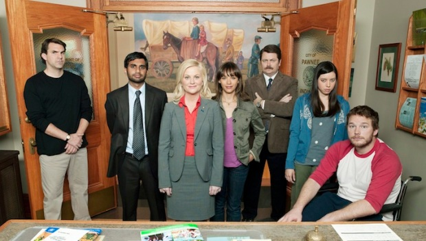 "On the Set of ""Parks and Recreation"""