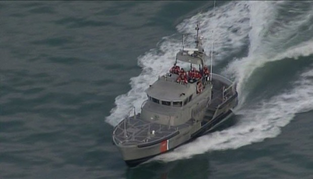 [BAY] Coast Guard Suspends Search for Person Seen Going Under Surf in Half Moon Bay