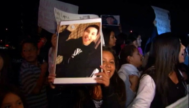 [BAY] Santa Rosa: Community Mourns, Protests Killing of 13-Year-Old Boy