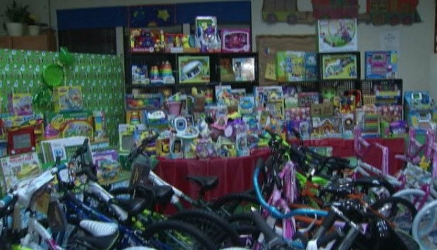 [BAY] Sacred Heart in San Jose Thousands of Toys Shy of Goal
