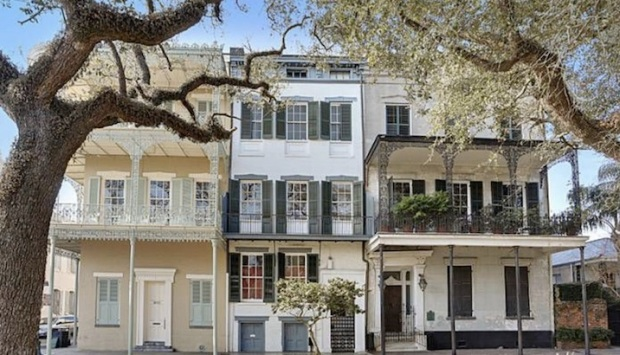 Muralist's Former Historic Home Hits New Orleans Market
