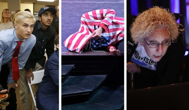 [la gallery] Photos: Election Night Highs and Lows in California