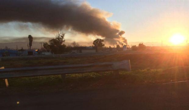 [BAY] 5-Alarm Fire Blazes at San Jose Auto Shop