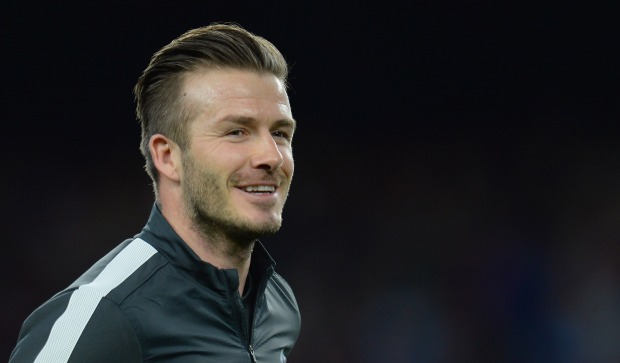 David Beckham Through the Years