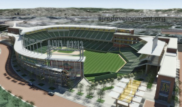 Images of the Proposed A's Ballpark in San Jose