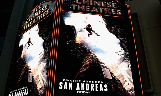 "[BAY] ""San Andreas"" Opens With Earthquake Lesson"