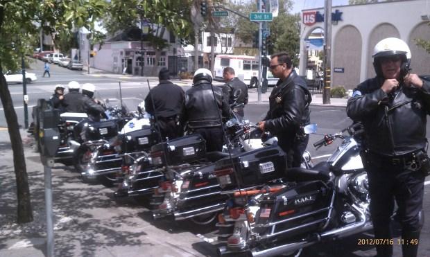 SF Police Prepare for Muni Protesters
