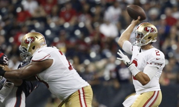 PHOTOS: 49ers vs. Texans