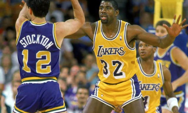Magic Johnson Through the Years
