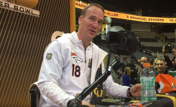 Super Bowl Media Night: Peyton Manning Trivia Test