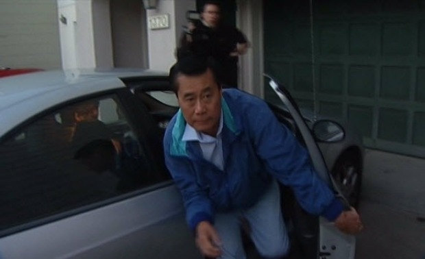 RAW VIDEO: Sen. Leland Yee Returns Home After Arrest