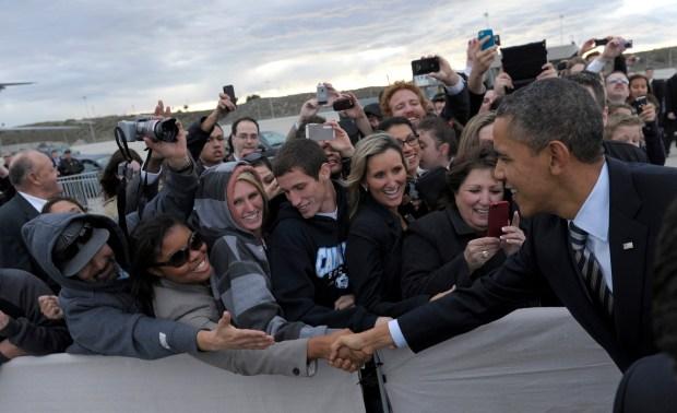 President Barack Obama's SoCal Visit: February 2012