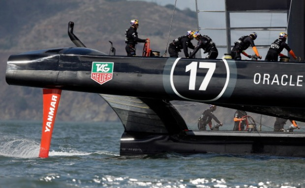 [BAY] All Tied Up 8-8 in America's Cup Races