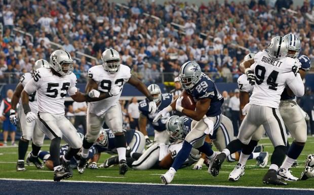 Raiders vs. Cowboys Thanksgiving Game
