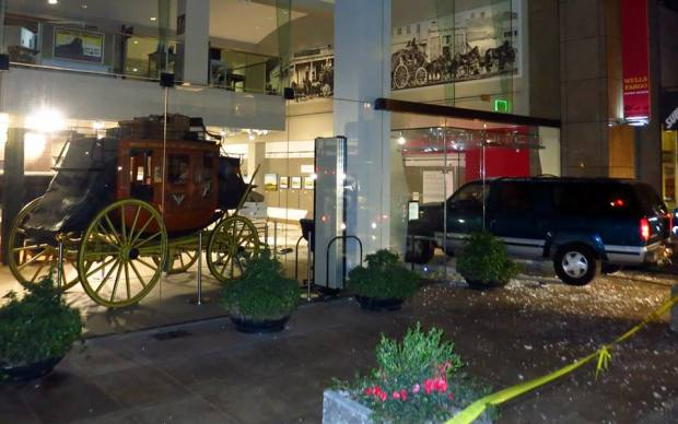 [BAY] Gold Nugget Thieves Ram SUV Into Museum