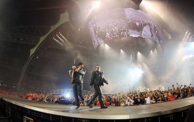 [BAY ML 6A VO ONLY] 49ers Ruffle Feathers Over Management of U2 Concert at Levi's Stadium
