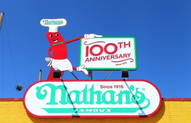 [NATL] Nathan's Famous Celebrates 100 Years in Coney Island
