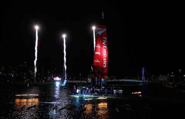 Team New Zealand America's Cup Naming Ceremony
