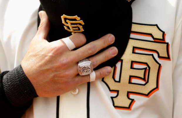 San Francisco Giants World Series Ring Ceremony
