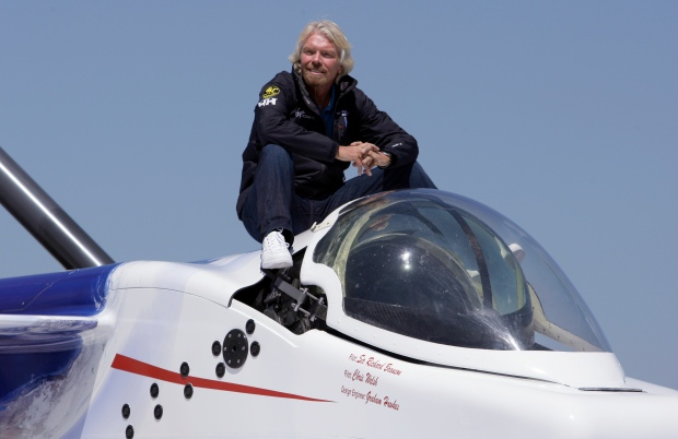 Richard Branson's New Submarine Surfaces in Newport