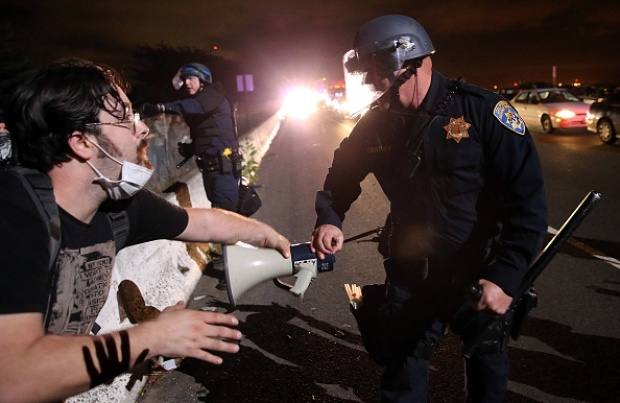 [BAY G]Berkeley Protests Over Eric Garner, Ferguson