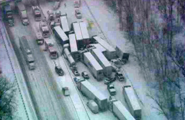 [CHI] Deadly Semi Crash Closes I-94 Near Michigan City