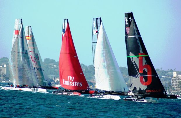 America's Cup Sets Sail in San Diego
