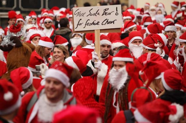 SantaCon Visits LA and Other Major Cities