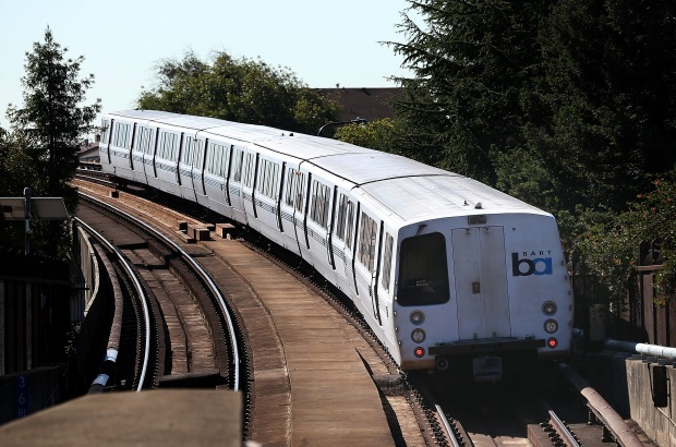 [BAY ML 6P VO ONLY] BART Rider Caught on Video Yelling Racist Slurs, Attacking Passenger