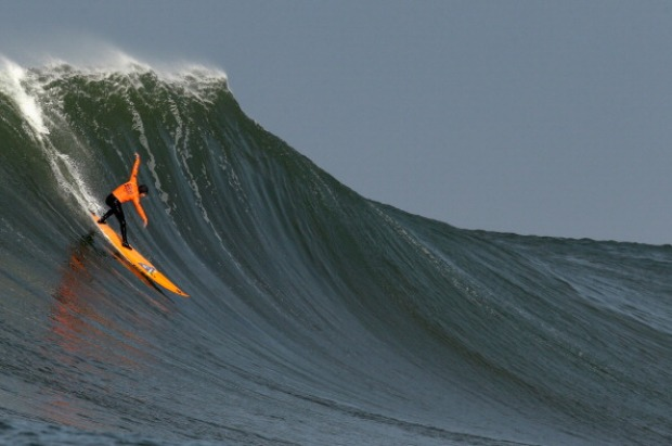 Mavericks Invitational Surf Contest 2014